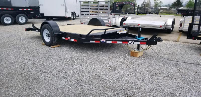 2020 PJ Trailers T1131 81x13 Equipment Trailer Tilt
