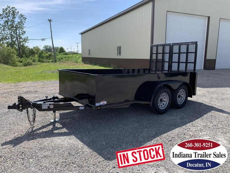 2020 Nation Tank and Trailer 6x12 Scissor Lift Equipment Trailer