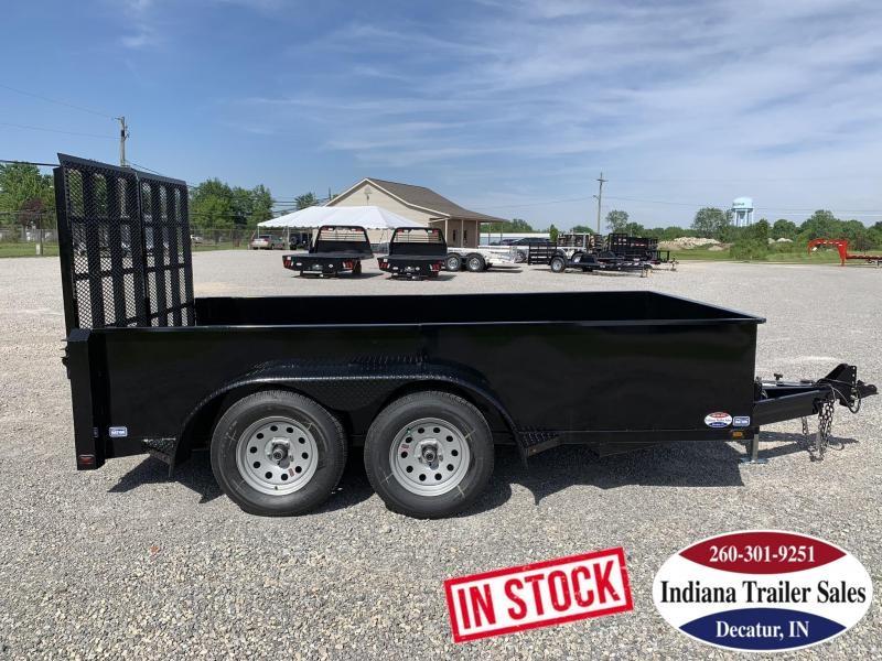 2020 Nation Tank and Trailer 6x12 Scissor Lift Equipment Trailer