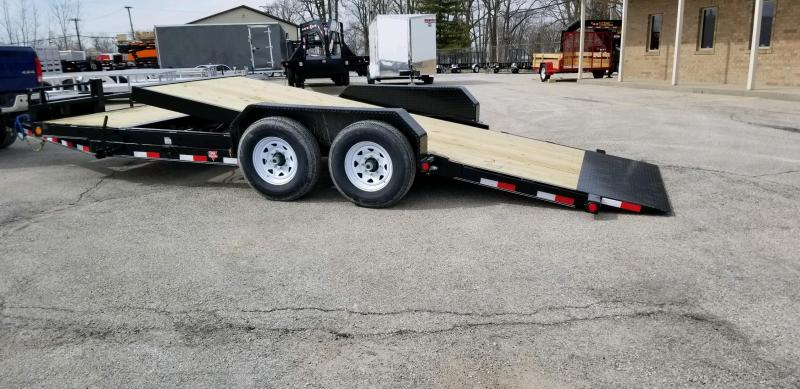 2020 PJ Trailers T6202 82x20 Equipment Trailer Tilt