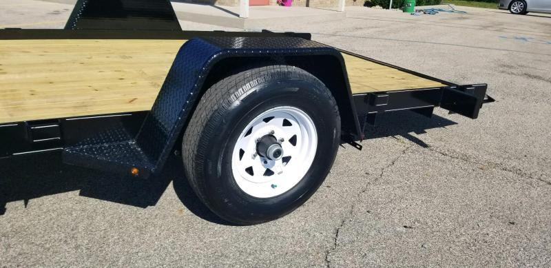 2019 Nation Tank and Trailer Equip/Tilt Equipment Trailer