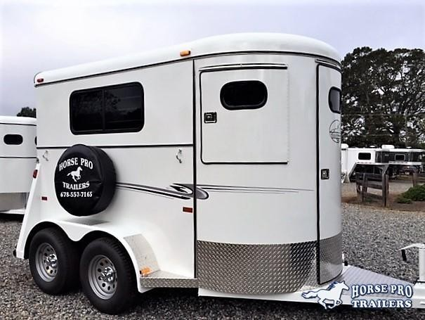 2019 Bee 2 Horse Straight Load BP w/ Walk-Thru Door in Habersham, GA