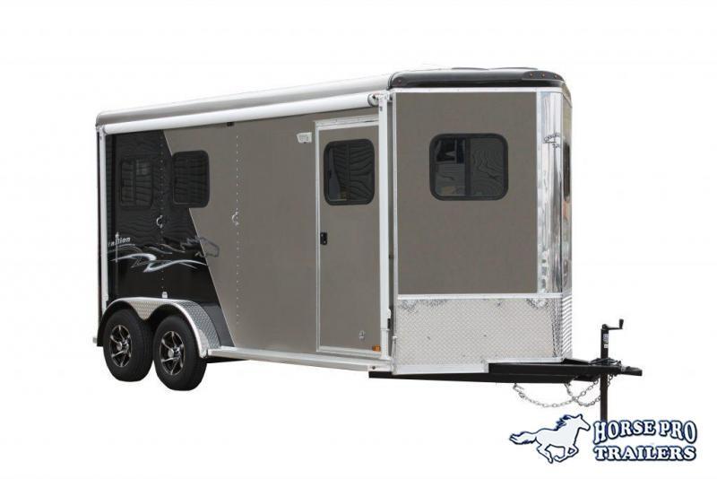 2019 Homesteader 2 Horse Slant  Bumper Pull