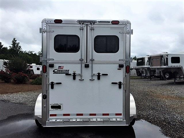 2019 Cimarron Norstar 2 Horse Straight Load Bumper Pull w/LOWER STUD PANEL