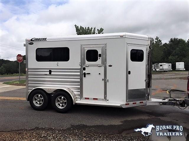 2019 Cimarron Norstar 2 Horse Straight Load Bumper Pull w/LOWER STUD PANEL in Ashburn, VA