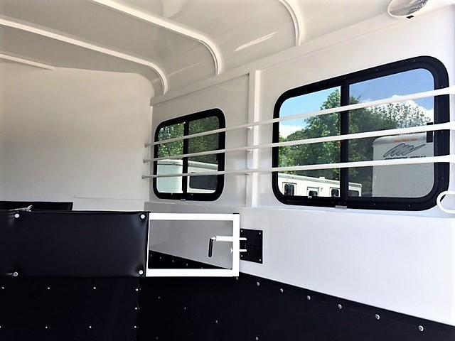 2019 Bee 2 Horse Slant Load Bumper Pull - Fully Enclosed