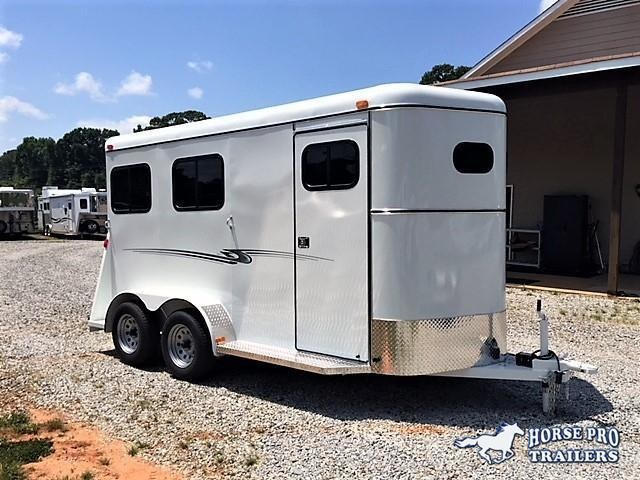 2019 Bee 2 Horse Slant Load Bumper Pull - Fully Enclosed  in Comer, GA