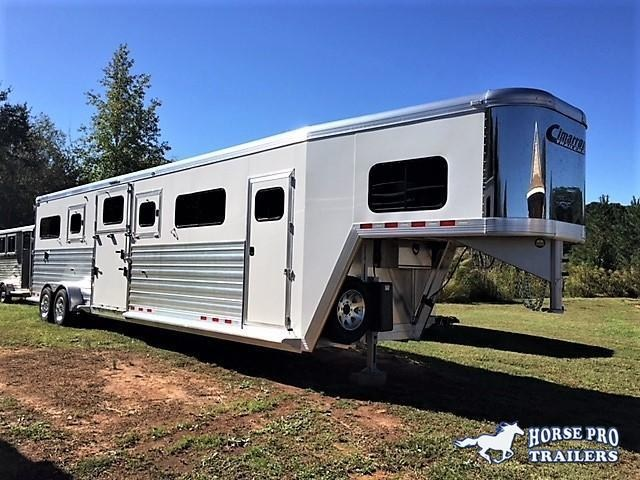 2019 Cimarron Norstar 4 Horse Head-to-Head Gooseneck in Chestnut Mountain, GA