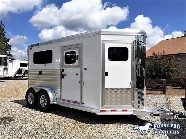 2019 Cimarron Norstar 2 Horse Straight Load Bumper Pull XL in Athens, GA