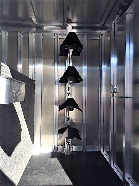 2020 Exiss 20' Stock Combo Gooseneck w/Dressing Room