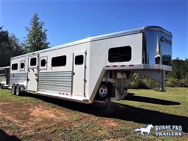 2020 Cimarron Norstar 4 Horse Head-to-Head Gooseneck w/FULL HEIGHT SLIDING DIVIDERS! in Ashburn, VA