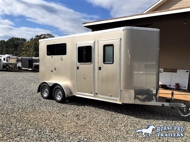 2019 Kiefer Kruiser 2 Horse Straight Load Bumper Pull w/INSULATED CEILING