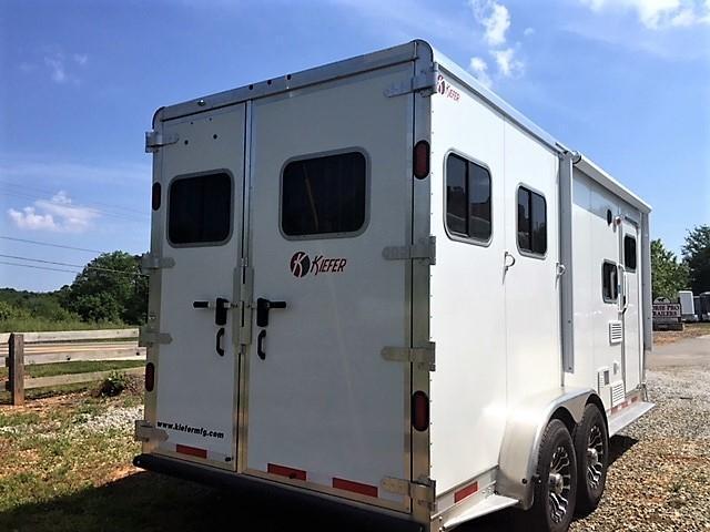 2019 Kiefer Genesis 2 Horse 6' LSR Living Quarters