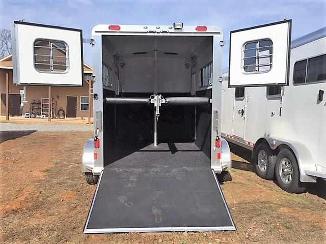 2020 4-Star 2 Horse Straight Load Gooseneck- WERM FLOORING!