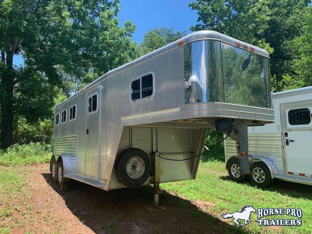 1995 Featherlite 3 Horse Slant Load Gooseneck w/REAR TACK! WELL MAINTAINED!