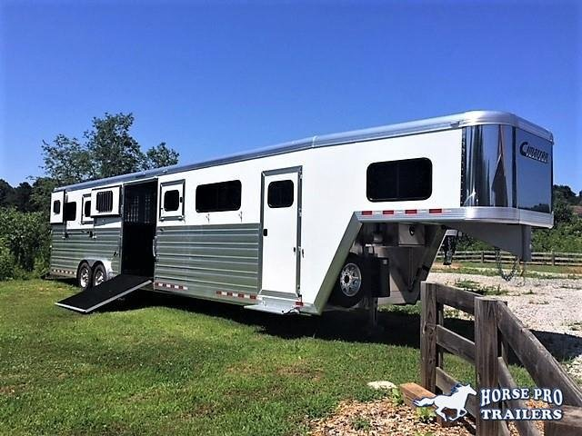 2019 Cimarron Norstar 6 Horse Head-To-Head Gooseneck