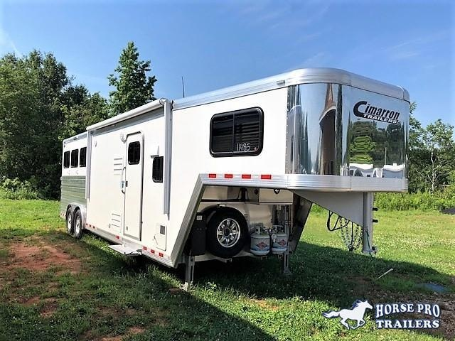 2018 Cimarron Norstar 3 Horse 10'9 Outback Living Quarters w/Slide Out