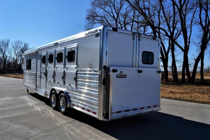 2019 Cimarron Norstar 4 Horse 12'6 Outback Living Quarters w/Slide Out & RAMP!