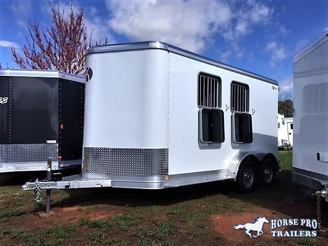 2018 Kiefer Genesis 2 Horse Slant Load Bumper Pull w/Rear Tack