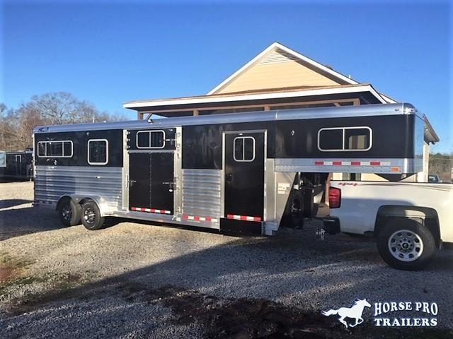 2019 4-Star 2+1/2+2 Gooseneck w/QUIET RIDE & HYDRAULIC JACK!