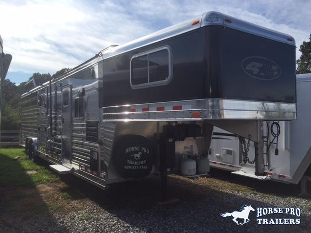 2015 4-Star Stock Combo 11' Sierra Living Quarters w/Roller Gate