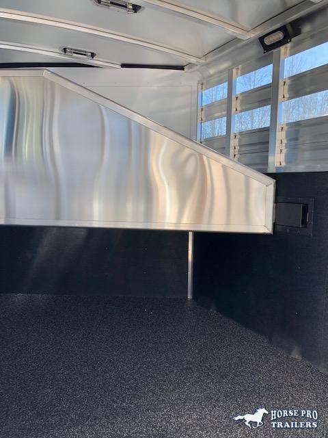 2019 Exiss CXF 2 Horse Slant Load Bumper Pull - POLYLAST FLOOR!