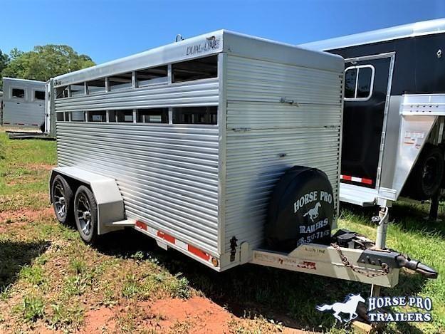 2000 Alum-Line Trailers 12 Livestock BP Livestock Trailer