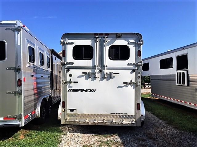 2013 Merhow Equistar XL 2 Horse Straight Load Gooseneck