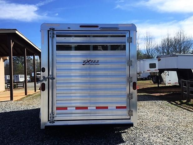 2018 Exiss CXF 3 Horse Slant Load Bumper Pull - POLYLAST FLOOR!