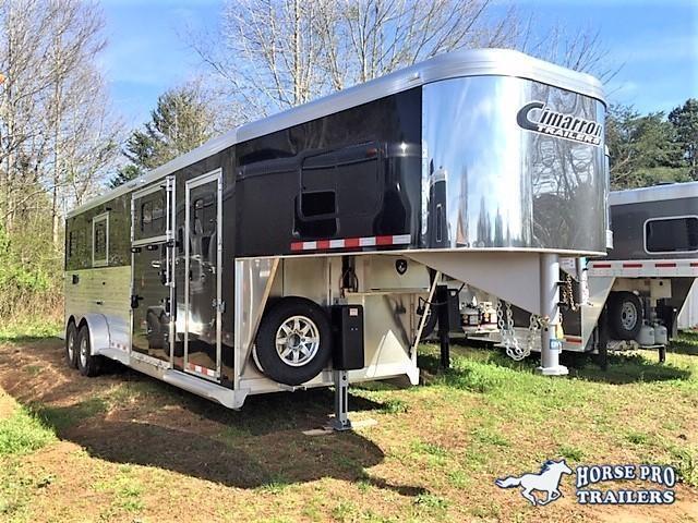2019 Cimarron 2+1 Gooseneck w/FULL HEIGHT SLIDING DIVIDER & WERM FLOORING! in Ashburn, VA