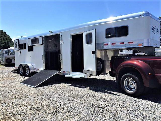 2019 4-Star 2+1 Gooseneck w/WERM FLOORING & 8' TALL!