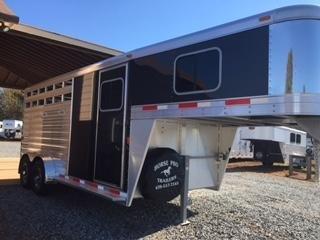 2019 Exiss CXF 3 Horse Slant Load Gooseneck- POLYLAST FLOOR!
