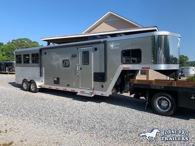 2017 Merhow Trailers Aluma Star 7311 3 Horse 12 LQ Horse Trailer in Ashburn, VA