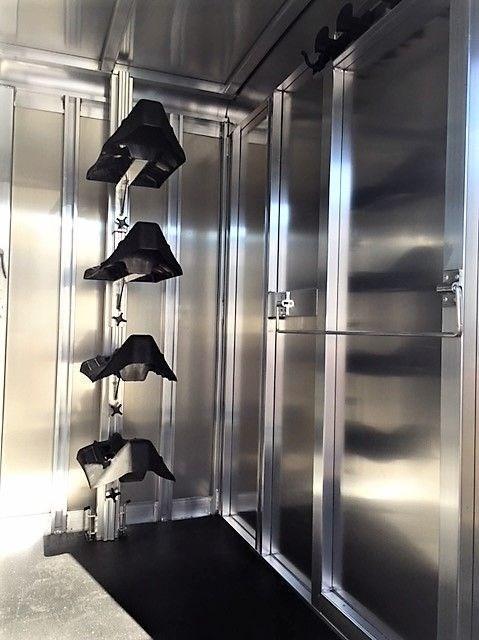 2019 Exiss 20' Stock Combo Gooseneck w/Dressing Room
