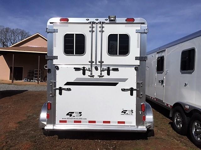 2020 4-Star 2 Horse Straight Load Gooseneck- WERM FLOORING!