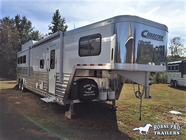 2019 Cimarron Norstar 3 Horse 14'6 Outback Living Quarters w/Slide DUAL ENTRY & GENERATOR in Ashburn, VA