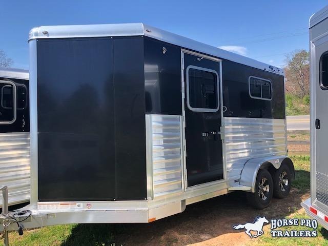 2019 4-Star 2 Horse Straight Load Bumper Pull w/WERM FLOORING!