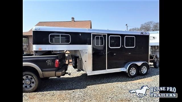 2018 4-Star 2 Horse Slant Load Gooseneck in Braselton, GA