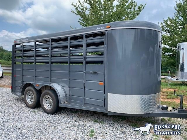 2017 CM 16' Stock BP Horse Trailer