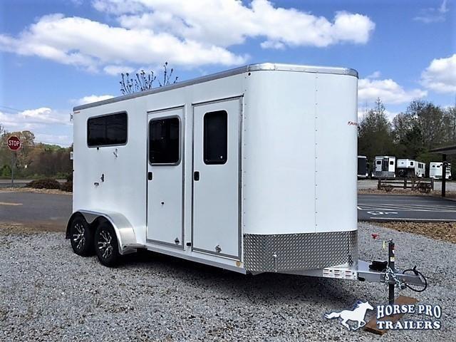 2019 Kiefer Kruiser 2 Horse Straight Load Bumper Pull