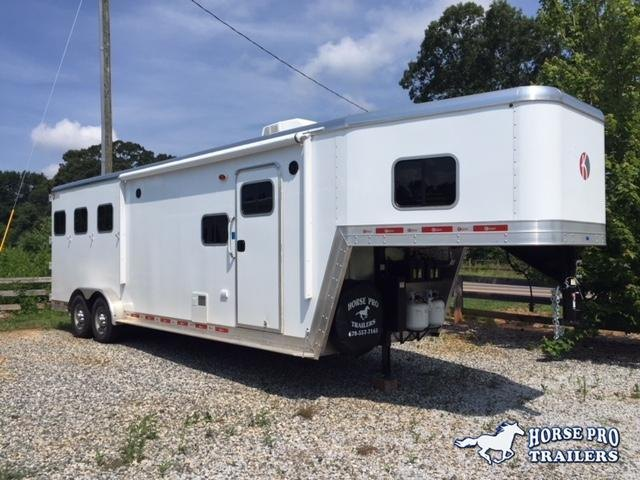2019 Kiefer Genesis 3 Horse 10'6'LSR Living Quarters in Ashburn, VA