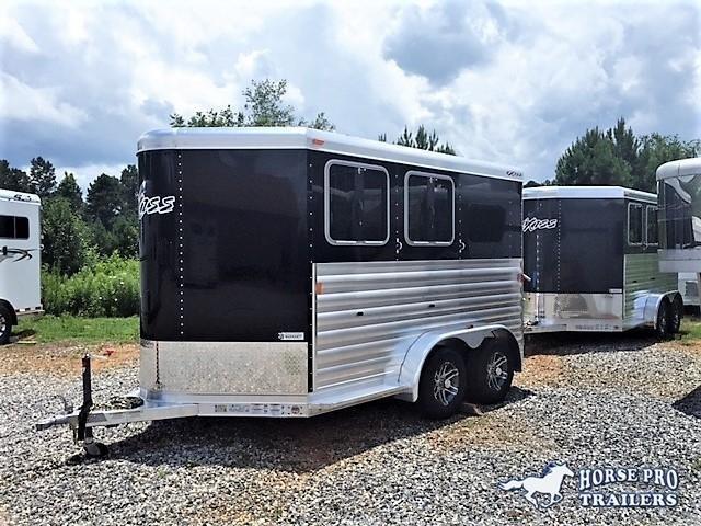 2019 Exiss CXF 2 Horse Slant Load Bumper Pull -  in Rutledge, GA
