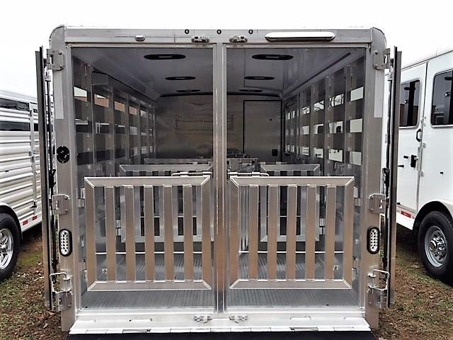 2019 Exiss Exhibitor 16' Low Profile Pig/Stock Bumper Pull