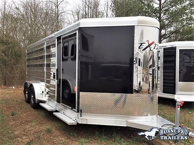2020 Exiss Exhibitor 16' Low Profile Pig/Stock Bumper Pull  in Ashburn, VA
