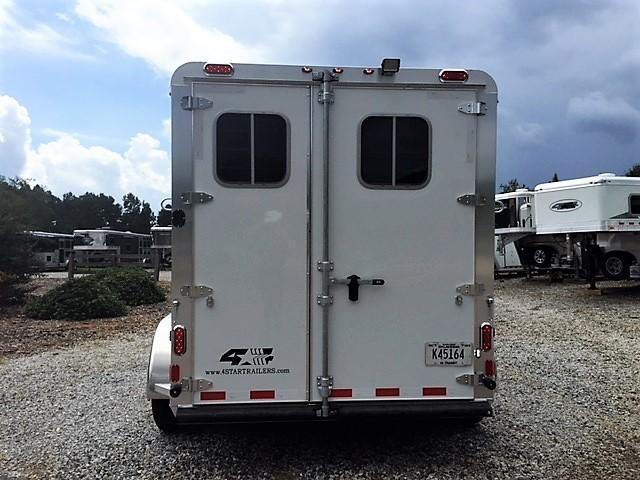 2019 4-Star 3 Horse Slant Load Bumper Pull