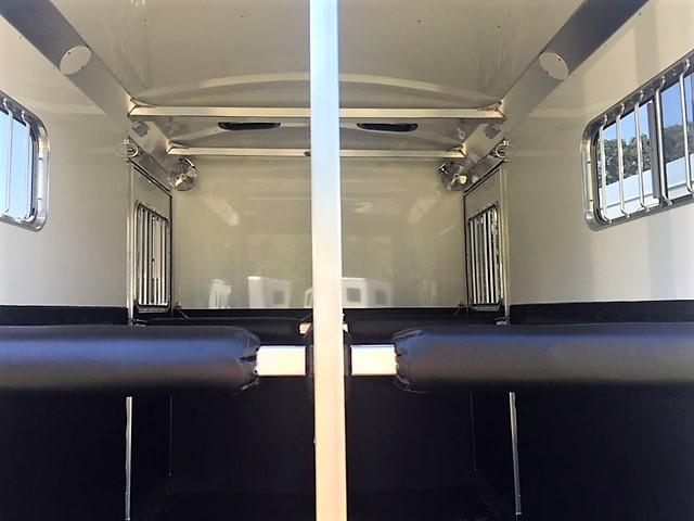 2019 4-Star 2 Horse Straight Load Bumper Pull w/QUIET RIDE!