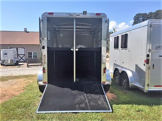 2019 4-Star 2 Horse Straight Load Bumper Pull w/QUIET RIDE!