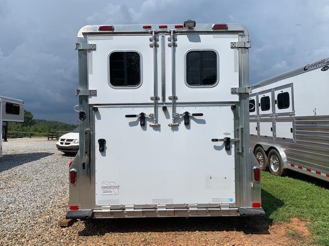 2009 4-Star 2 Horse Straight Load Gooseneck w/WERM FLOORING! JUST SERVICED!