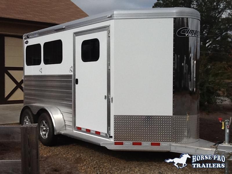 2019 Cimarron Norstar R.T.G. 2 Horse Slant Load Bumper Pull