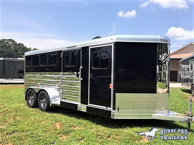2019 Exiss Exhibitor 16' Low Profile Pig/Stock Bumper Pull w/Windows in Canon, GA